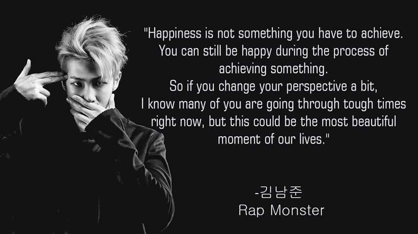 what are your thoughts on bts rap monster page 2