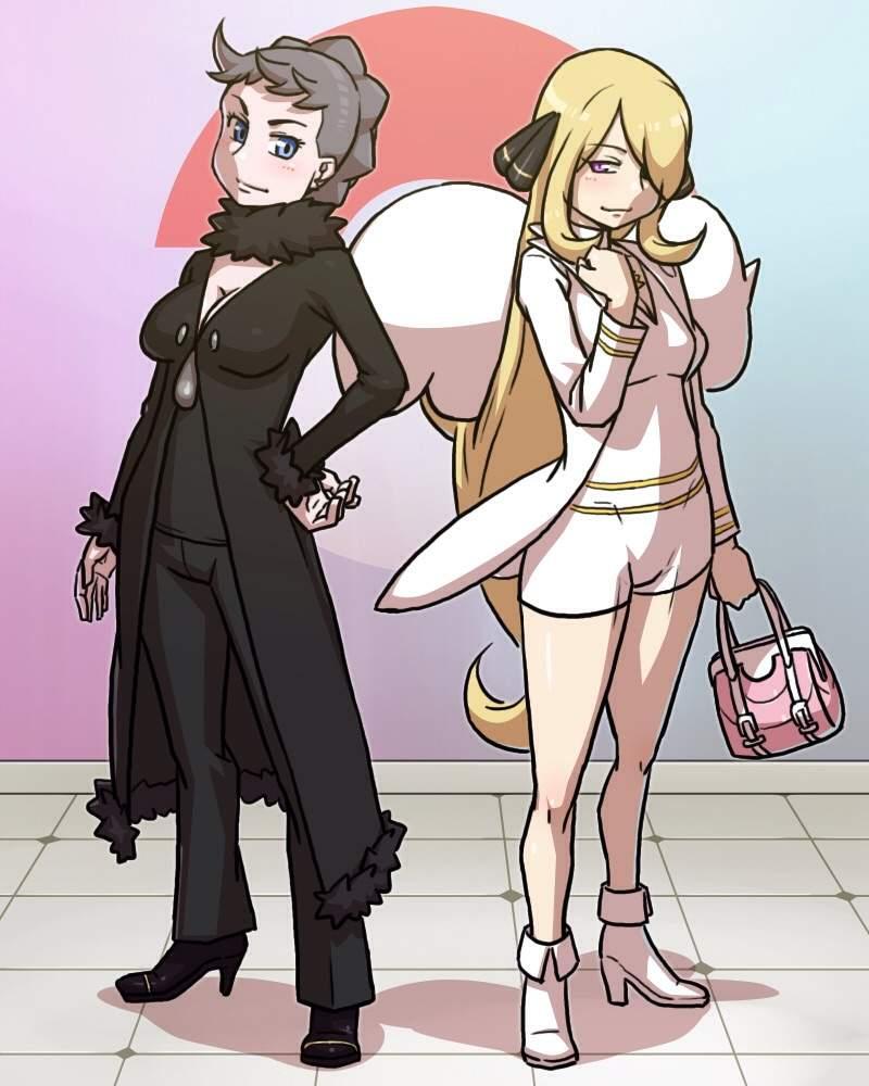 Sinnoh Champion Cynthia | Pokémon Amino