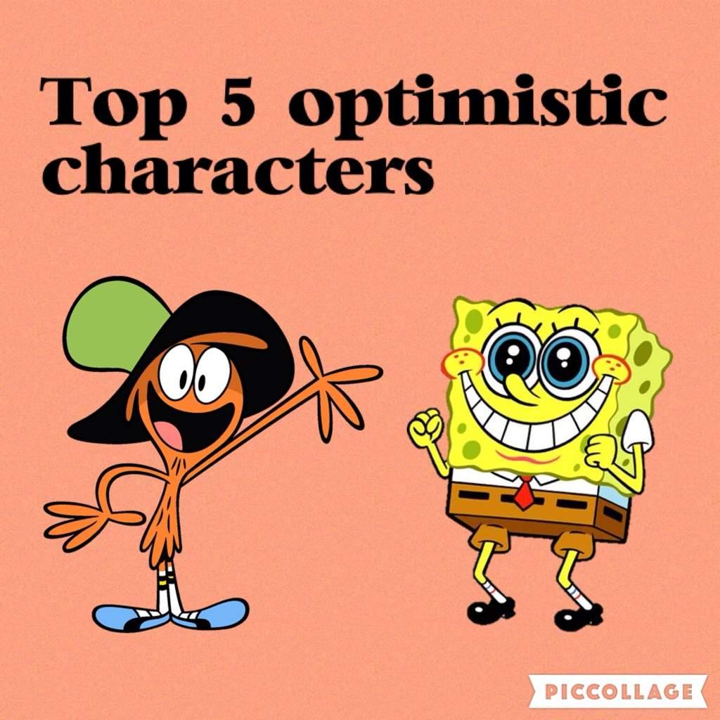Top 5 Cartoon Characters : Top optimistic cartoon characters amino