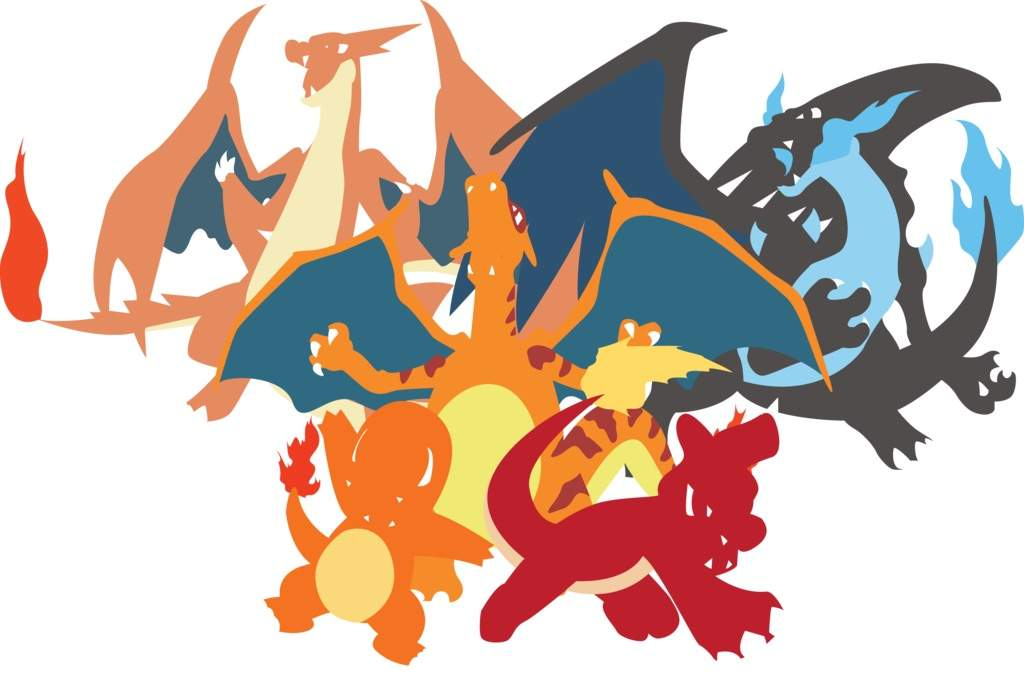 Mega Charizard X Para Colorear: Charmander Evolution Line