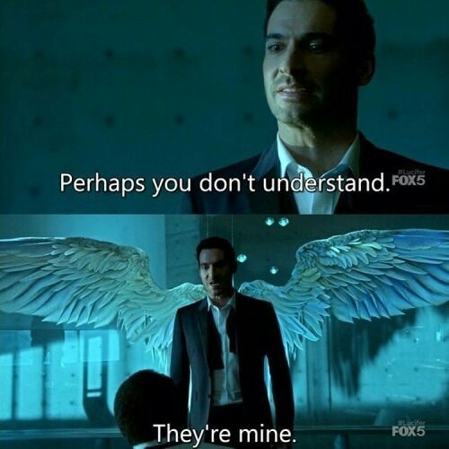 Lucifer On His Wings...