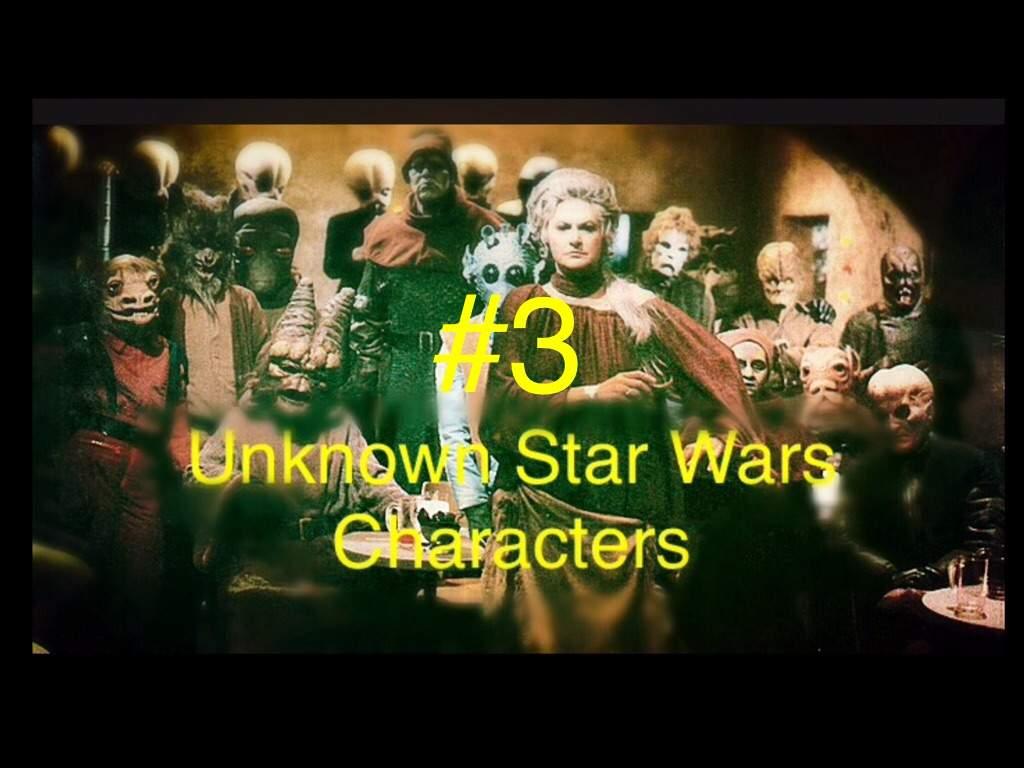 Unknown star wars characters 3 star wars amino - Star wars amino ...