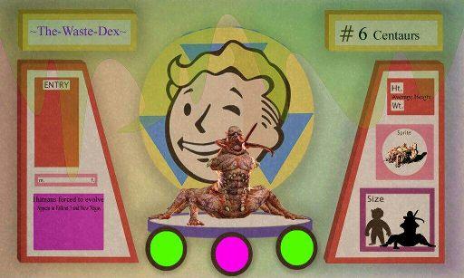The-Waste-Dex Episode 6  Centaurs | Fallout Amino