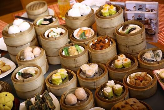 Dim sum food amino for 8 cuisines of china