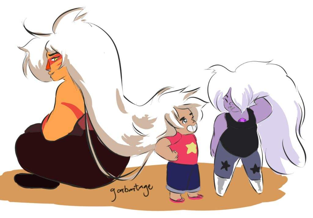 Rose Quartz Steven Universe Hair Template: Steven Universe With Big Hair