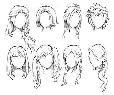How to draw hair | Anime Amino