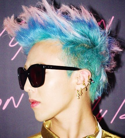 G Dragon 2014 Blue Hair MY TOP TEN FAVOURITE G...