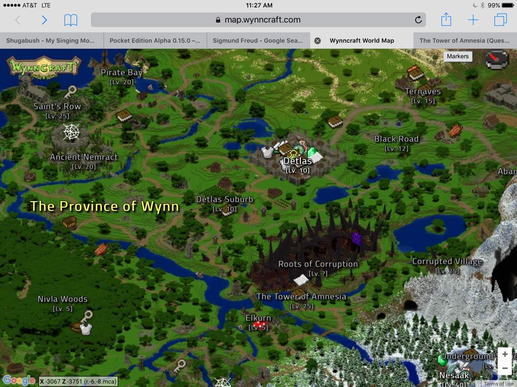 Wynncraft mapwynncraft map look fully functional mmo made wynncraft minecraft amino gumiabroncs Choice Image