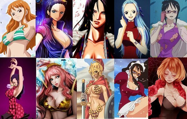 Hot one piece girls