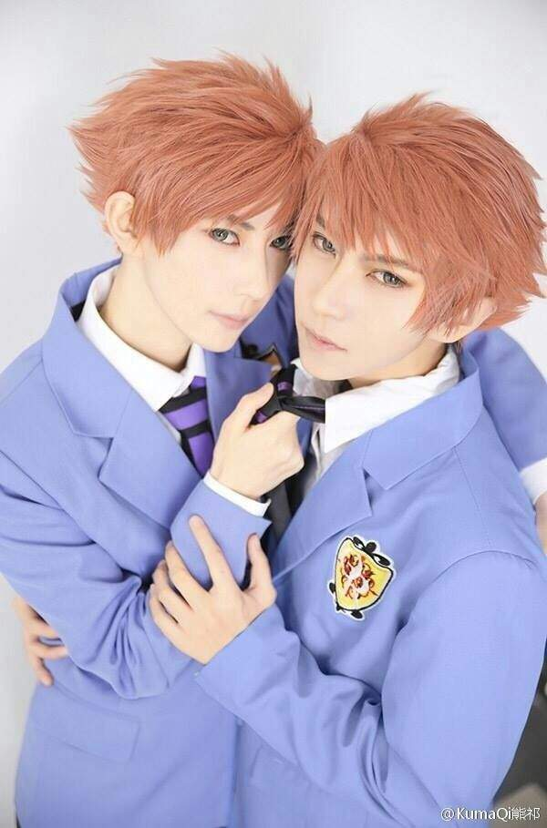 pics for gt ouran highschool host club twins cosplay