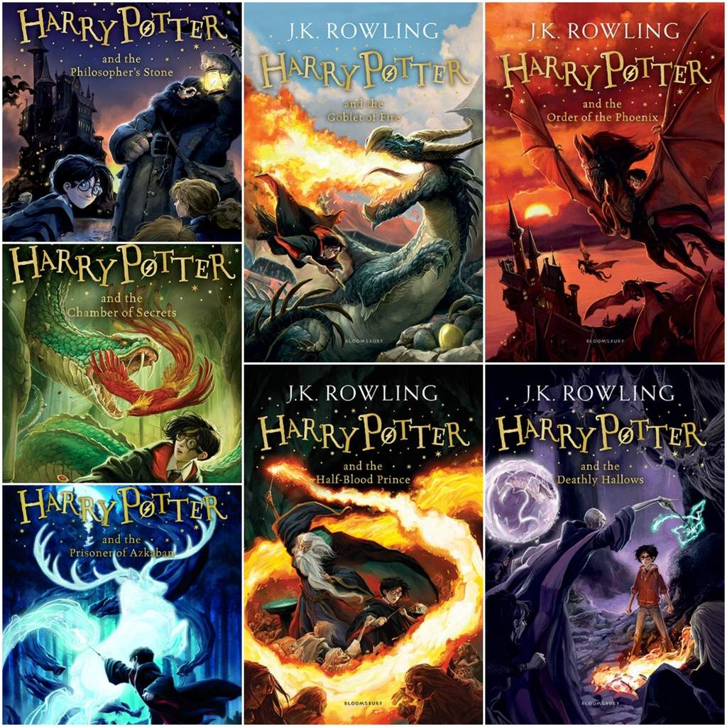 Harry Potter Book Cover Collage : What s your favorite harry potter book books writing