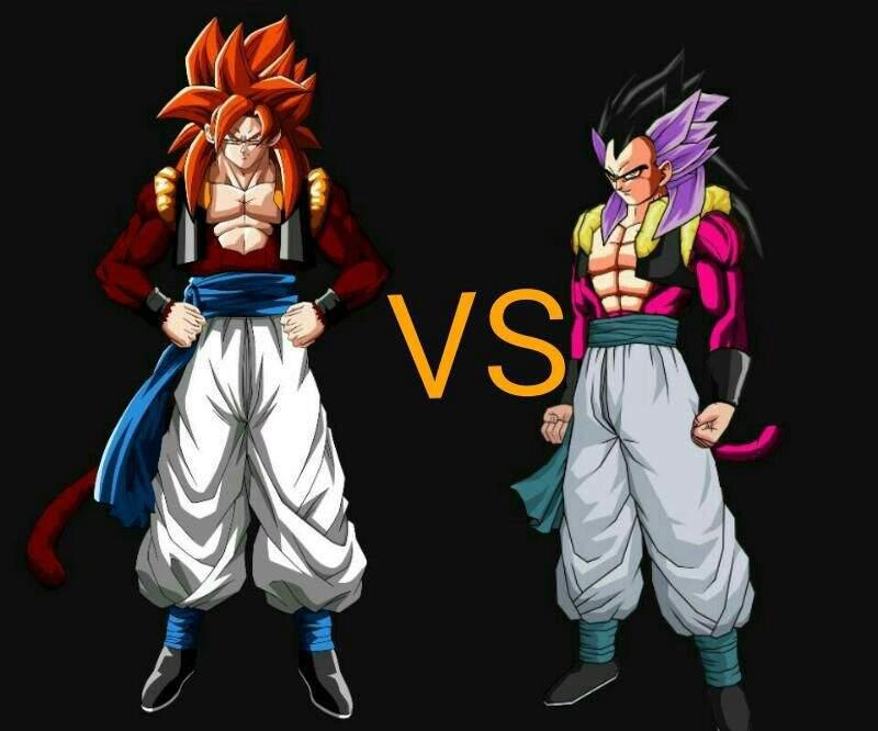 Ssj4 Gogeta vs ssj4 adult gotenks | DragonBallZ Amino