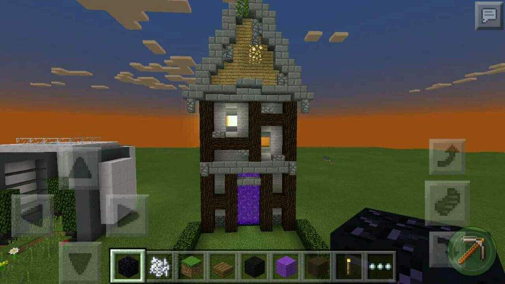 how to make house portals