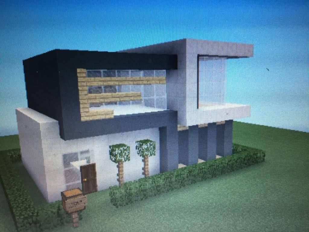 Modern House Minecraft Amino