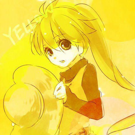 Resultado de imagen para imagenes de animes color amarillo