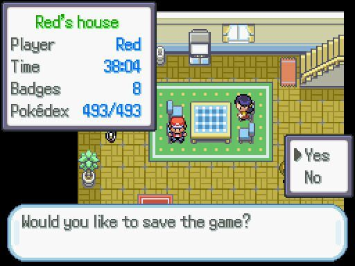 how to delete your save file in pokemon