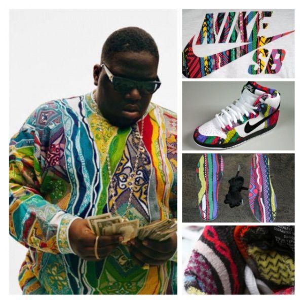 huge selection of 250a8 cf8e0 Notorious B.I.G Nike SB Dunk - Huxtable💪🏾 | Sneakerheads Amino