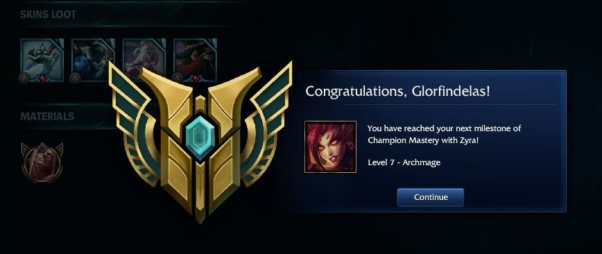 how to get level 7 mastery in league of legends