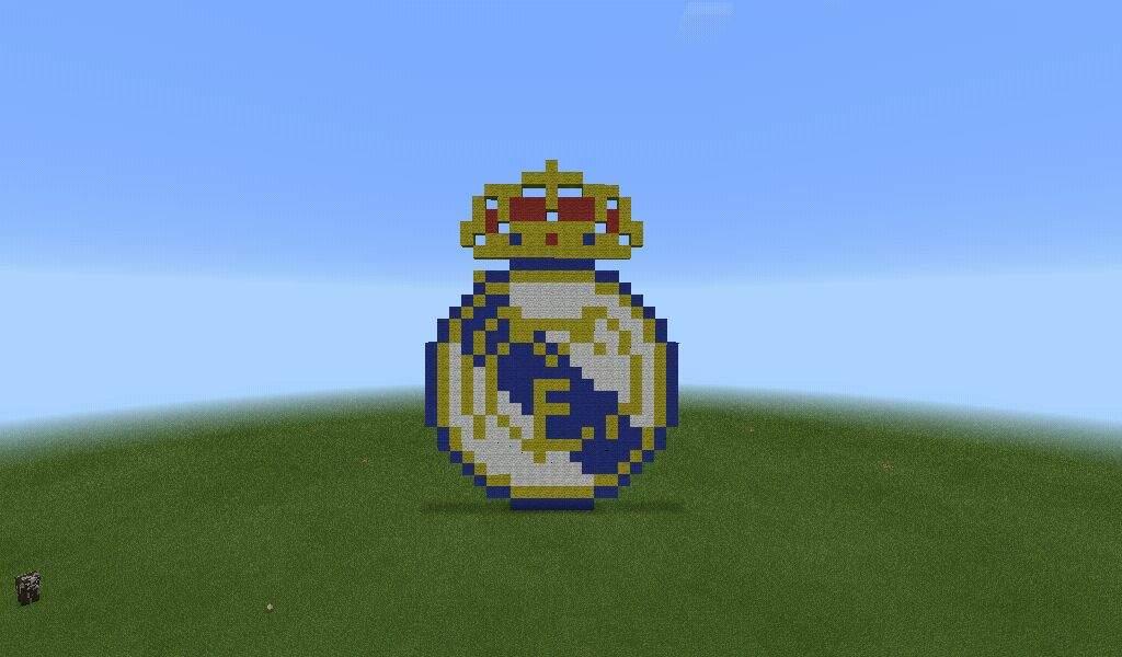 escudo real madrid descargar minecraft