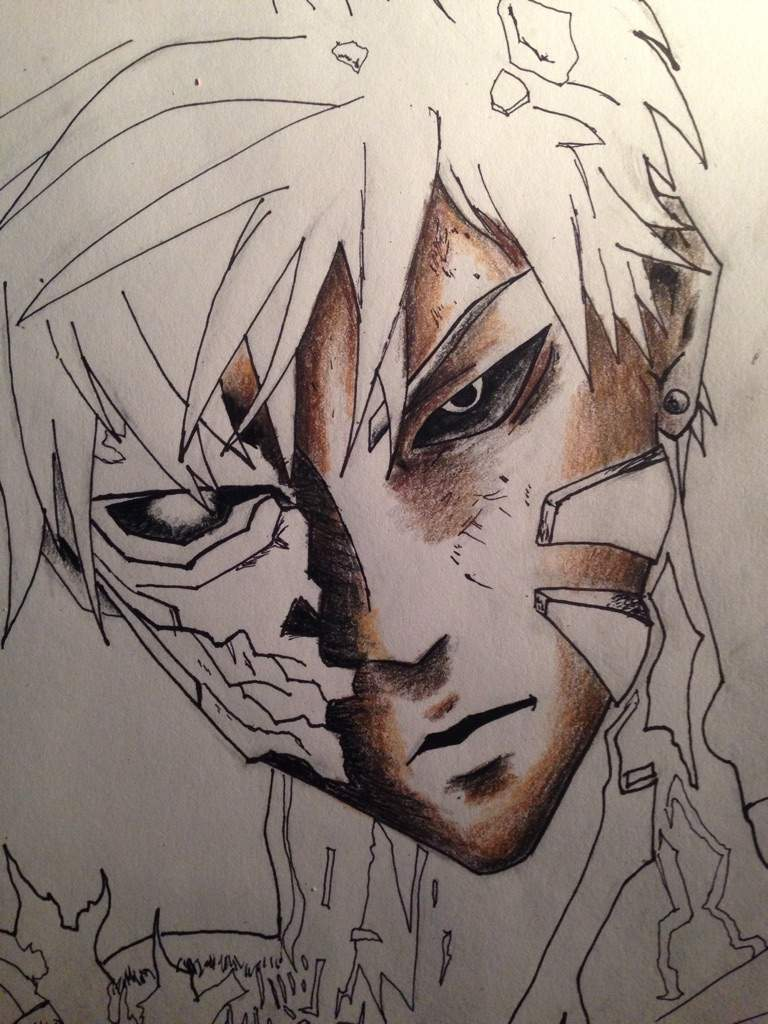 Genos From One Punch Man Drawing Anime Amino