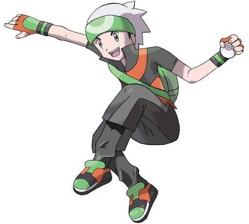 30diaschallenge dia 8 personaje masculino favorito - Louka pokemon ...