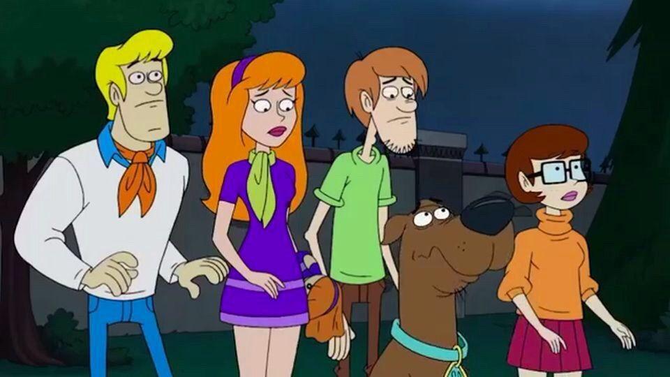 Scooby doo porn yeti