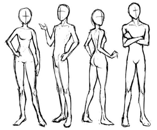 Body Poses For Drawing Wiki Art Amino