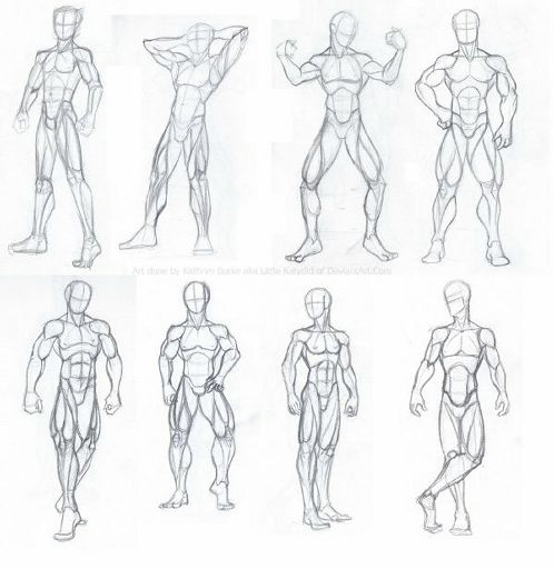 Body Poses Art
