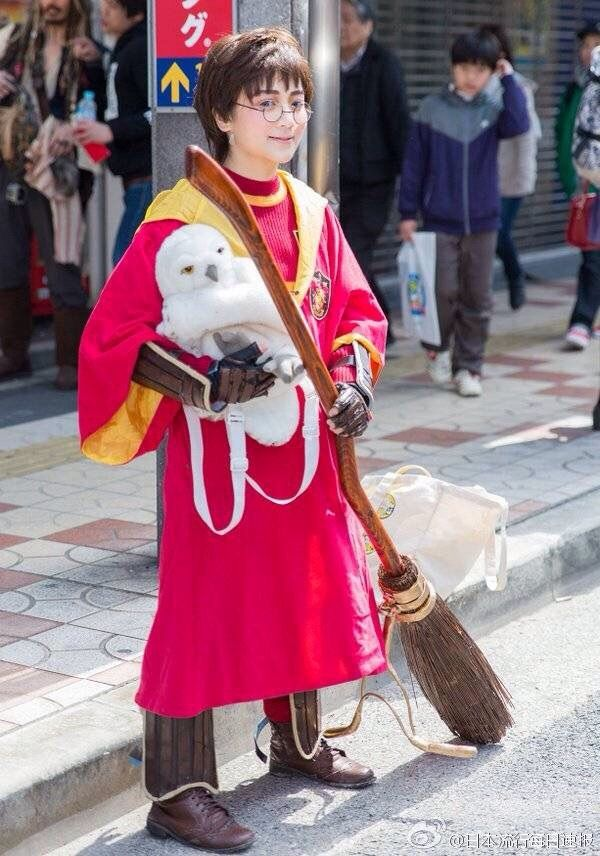 Japan cosplay Harry ️ | Harry Potter Amino
