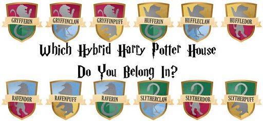 which hybrid harry potter house do you belong in harry potter amino. Black Bedroom Furniture Sets. Home Design Ideas