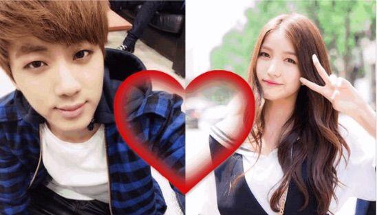 se confirma que Jin tiene novia
