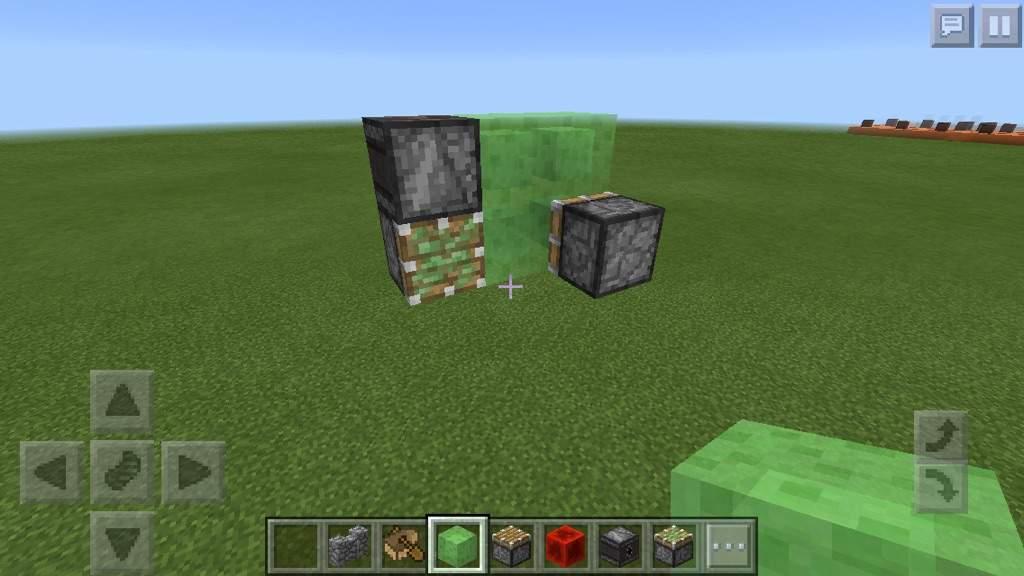 minecraft slime block flying machine