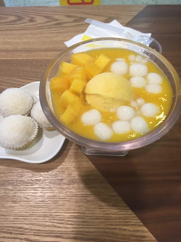 Mango shaved ice recipe