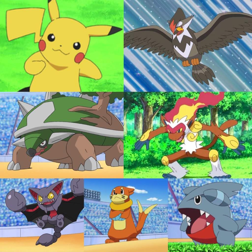 ashs pokemon teams pok233mon amino