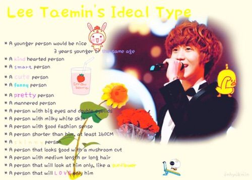 Shinee Ideal Type | K-Pop Amino