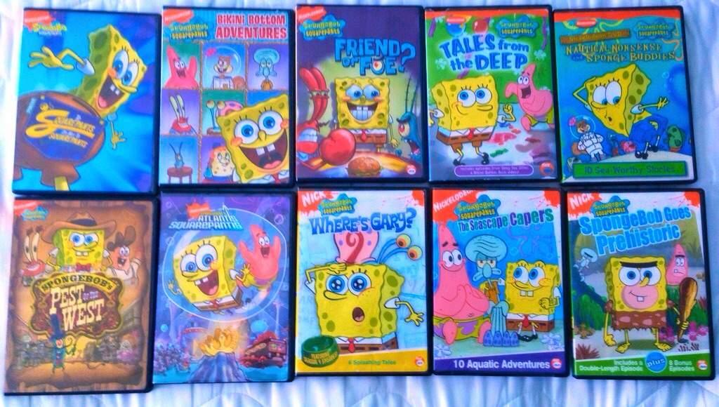 The Cartoon Revue: SpongeBob SquarePants: Seasons 1-3