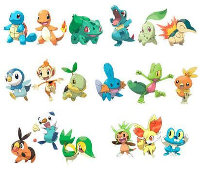 Que pokemon Inicial es su favorito -Encuesta-Cuarta generacion a ...
