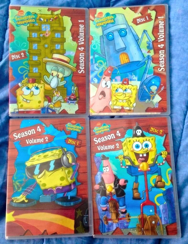Spongebob Dvd Season 4...