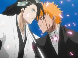 Bleach Rukia And Ichigo Back To Back