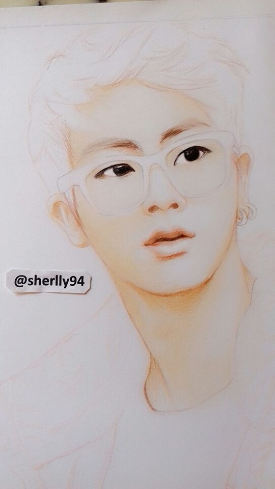 Jin Bts Step By Step Drawing K Pop Amino