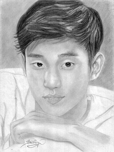 Korean Actor Or Actress Drawing Version   K-Drama Amino
