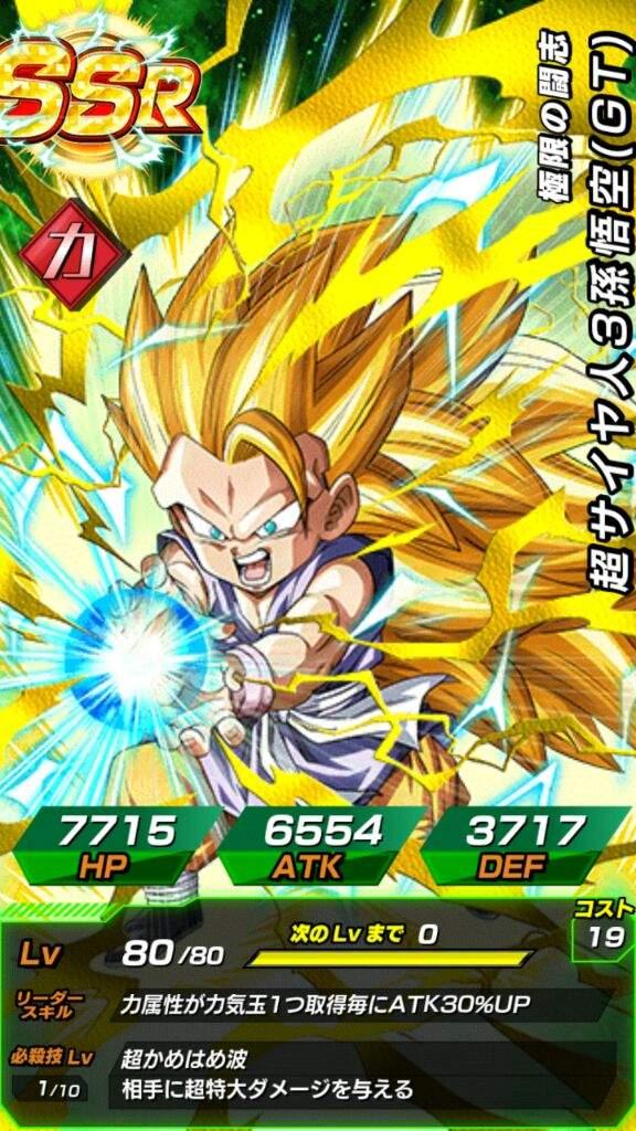 Super Saiyan 3 Goku (GT)