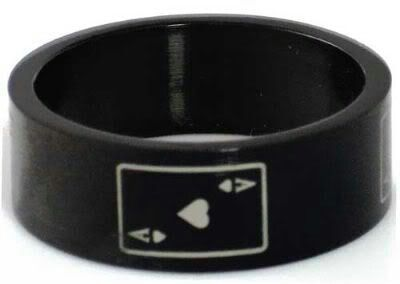 Black asexual ring
