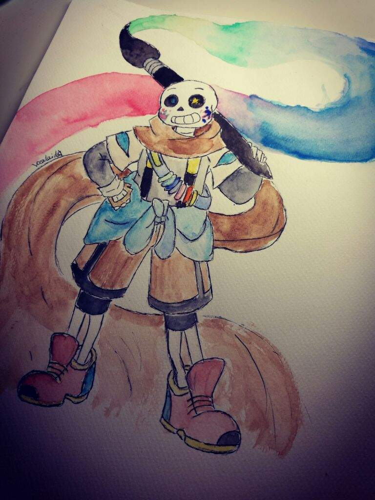 My first watercolor drawing art amino for My first watercolor painting