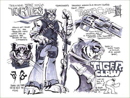 tmnt 2012 shredder claws