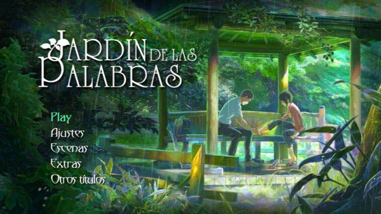 El jard n de las palabras recomendaci n anime amino for El jardin de las letras