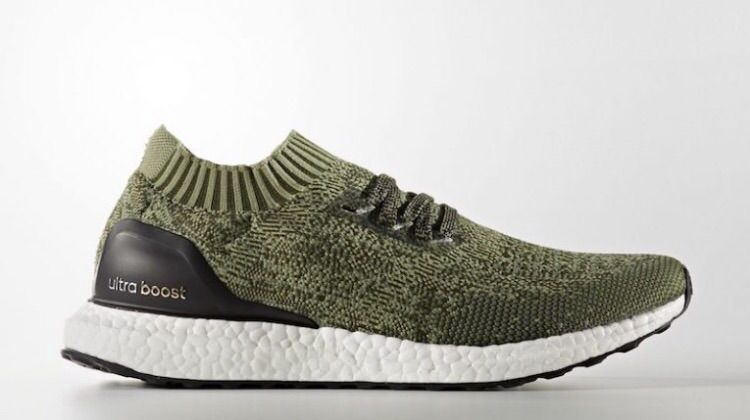3f4c7c8ca7a1c Releasing in earth tones is the upcoming adidas Ultra Boost Uncaged Tech  Earth colorway that debuts this July. Dressed in a Vapour Grey ...