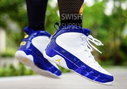 "huge selection of b6b6e c8db1 Air Jordan 9 ""Kobe Bryant"" PE on feet | Sneakerheads Amino"