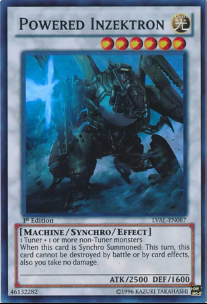 machine synchro monsters