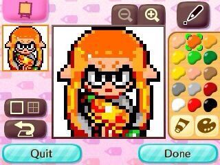 Splatoon Pixel Art 3 Splatoon Amino